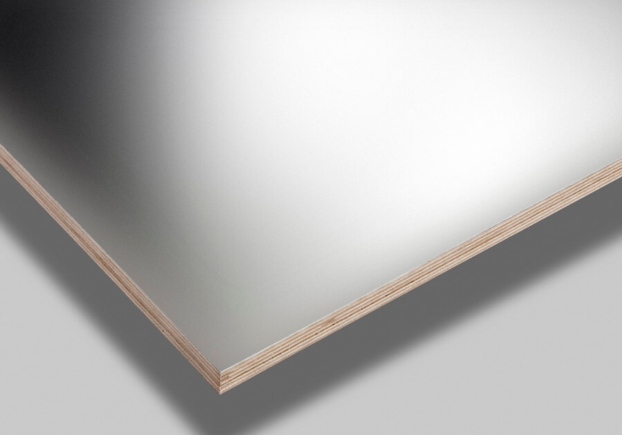 Antibacterial film on plywood substrate