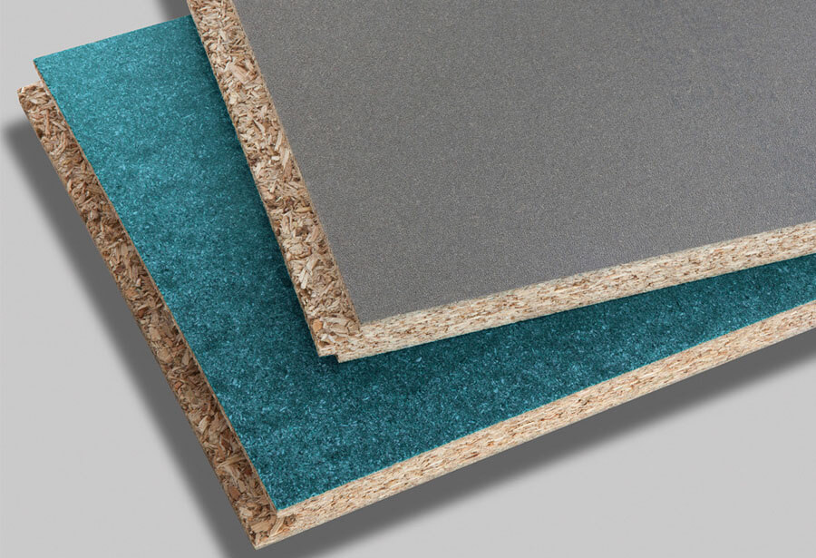 Grey slip resistant coatings with turquoise balancer coat
