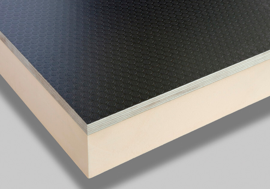 Thermal insulated panels - plywood with PIR insulation