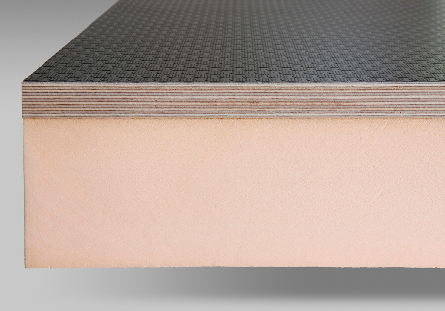 Thermal insulated panels - PIR insulation and coated top face
