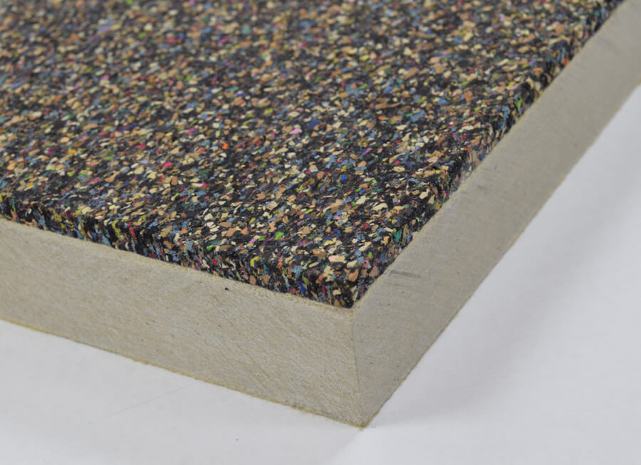 Cement board pre-bonded thermal insulated panels